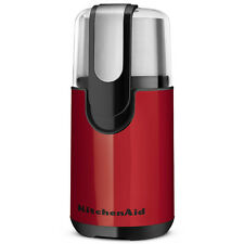 New KitchenAid Blade Coffee Grinder Empire Red BCG111ER Stainless Steel Bowl