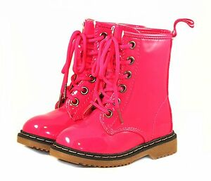 Brand New Kids/Toddlers/Infants Casual Laces Cute Low Heel Boots Shoes SZ #4-#8