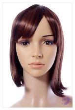 Nouveau style marron rougeâtre mix femmes perruques uk
