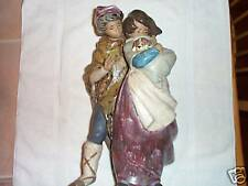 Vintage Lladro,Facing The Wind,#01011279 Gres'Finish,By Juan Huerta,Retired,Rare