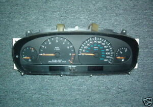 Dodge Caravan Voyager Town & Country, 4spd AT Instrument Cluster Tach 1997-1998