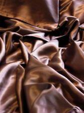 4 pcs 100% silk mulberry seamless sheet sets King Brown