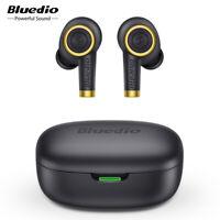 Bluedio Particle Bluetooth Earphone True Wireless Earbuds Waterproof Stereo Mic
