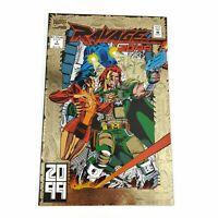 Marvel Comics Ravage 2099 #1 Foil Cover 1992 Direct Edition Stan Lee, Paul Ryan