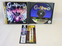 Sega Saturn GRANDREAD with SPINE CARD * Japan Video Game ss