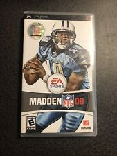 Madden 08 PSP UMD Playstation Portable Complete With Manual