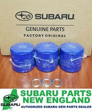 Genuine OEM Subaru Engine Oil Filter & Drain Plug Gasket 15208AA12A (3-Pack)