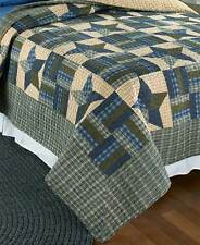 Country Star King Bed Quilt Primitive Rustic Bedroom Farm House Home Decor