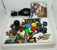 PLAYSTATION 3 PS3 MADCATZ STREET FIGHTER IV ARCADE FIGHTSTICK + GAME
