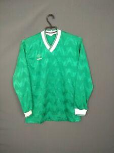 Umbro Jersey Long Sleeve SMALL Shirt Mens Trikot Camiseta Vintage Retro ig93