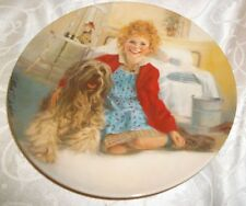 """Knowles """"Annie and Sandy"""" Collector Plate 1982 , 8 1/2""""D"""