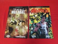 CRIMINAL MACABRE GRAPHIC NOVEL LOT OF VOLUMES 1 & 2 (2004-2005) STEVE NILES