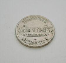 Casino St. Charles Missouri 25 cent Slot Play Token VG/F