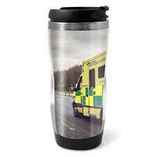 Ambulance Vehicle Travel Mug Flask - 330ml Coffee Tea Kids Car Gift #15804