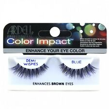Ardell Color Impact Demi Wispies - Blue Colour - False Eyelashes