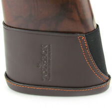 Tourbon Real Leather Slip-on Recoil Pads Buttstock Extension Shotgun Gun Rifle L