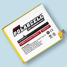 PolarCell Akku für Nokia 3 TA-1020 Dual Sim TA-1032 HE319 2800mAh Batterie Accu