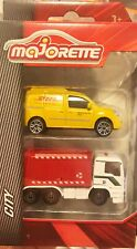 Majorette City Set Man Refuse Set, Renault DHL