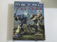 PC METAL FATIGUE Psygnosis 2000 11+ (WIN 95/98 - CD-Rom) Strategy BIG BOX RARE