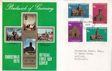 Guernsey 1970 Christmas FDC Sark CDS VGC