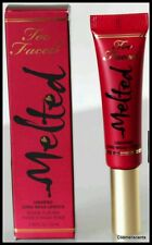 Too Faced Melted Ruby Lipstick Liquefied Long Wear Lip Stick .4oz Full Size NIB