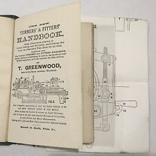 1918 - GREENWOOD, Thomas.   The New Turners' and Fitters' handbook.