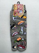 Nagomi Japanese Sushi Split Toe Tabi Socks Womens Sz 9-11, 25-28 cm