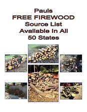 Free Hardwood Split and Non Split Firewood Nationwide pickup or delivered