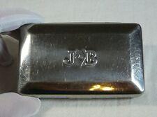 JOB JB Cigarette Rolling Paper Metal Tobacco Box Holder Case Vtg Made in France
