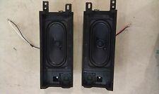 5EE58 SONY KDL-46W4100 LCD TV: PAIR OF SPEAKERS, 2 WAY, TEST OK, VERY GOOD COND