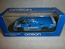 Onyx Porsche 962 C LE MANS 1990 #55 OMRON En parfait état, dans sa boîte 1:43