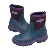 Grubs Midline In Violet ladies 5.0 Short Wellington Boot/Muck boot Size 7