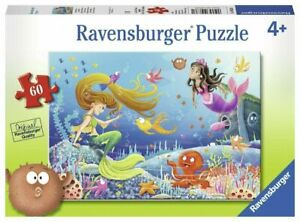 Ravensburger Mermaid Tales 60 pcs Jigsaw Puzzle 4+
