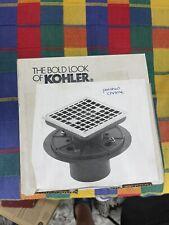 Kohler K-9136-CP Shower Drain D1