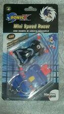 GIOCATTOLO VINTAGE SONIC X MINI SPEED RACER RAMPA LANCIO TASCABILE action figure