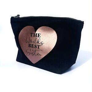 Make up bag, gift for her, personalised make up bag, best mum, best grandma