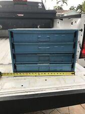 Vintage Machinist Parts Cabinet Hardware Compartment Organizer Bowman Industries