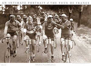 Tour de France SMOKERS Vintage 1920s Classic Cycling 22x30 Wall POSTER Print