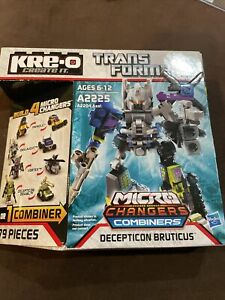 KRE-O Transformer Decepticon Bruticus Micro Changers Combiners A2225 Sealed