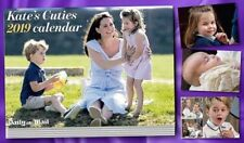 Kate Middleton Kate's Cuties Calender 2019 Daily Mail Prince George Charlotte