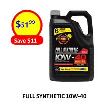 FULL SYNTHETIC 10W40 (6L) PENRITE ENGINE OIL