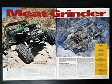 "1981 Jeep CJ-7  ""Meat Grinder""   - 2-Page Article"