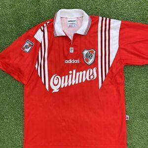 River Plate 1995 Away Football Shirt Adidas Vintage Retro Rare XL