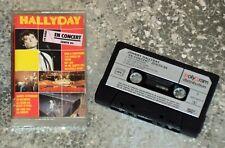 Cassette Audio Johnny Hallyday - En concert - Zénith 84 - K7