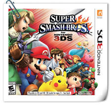 3DS SUPER SMASH BROS Nintendo Action Games