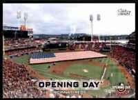 2019 Topps Opening Day Opening Day Cincinnati Reds #ODB-CR (56542)