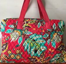 NWT Vera Bradley Triple Compartment Travel Bag --RUMBA