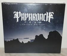 CD PAPAROACH - FEAR - DELUXE EDITION - SLIPCASE - NUOVO NEW