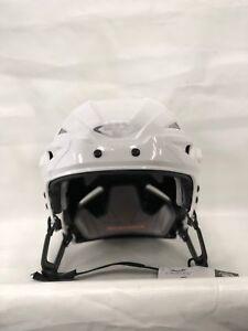 Tour Spartan ZX Hockey Helmet NO CAGE White Medium **NEW**