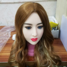 Sex toy head with a real open mouth for 165cm--170cm TPE Love Doll (only a head)